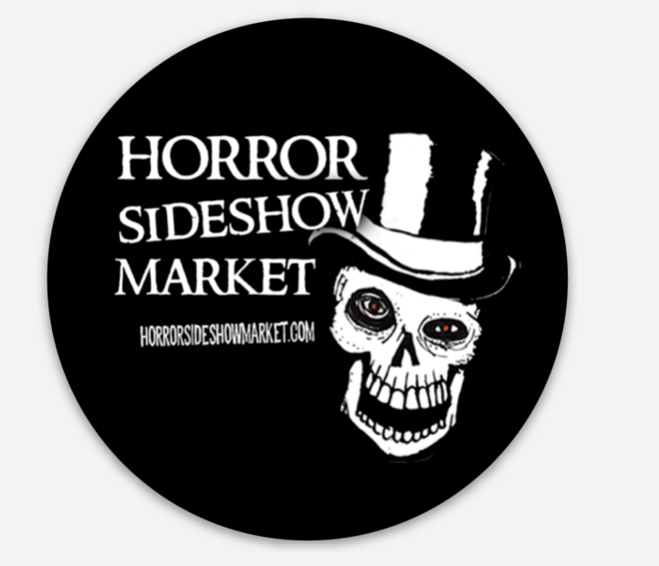Horror Sideshow Market Stickers
