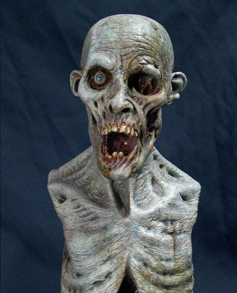 Image of Casey Love Corpse Zombie Resin Bust (Fully Painted & Model Kit)