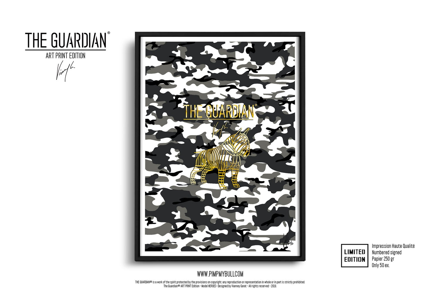 Image of ART PRINT - THE GUARDIAN CONTACT - Limited Edition 50 Units.