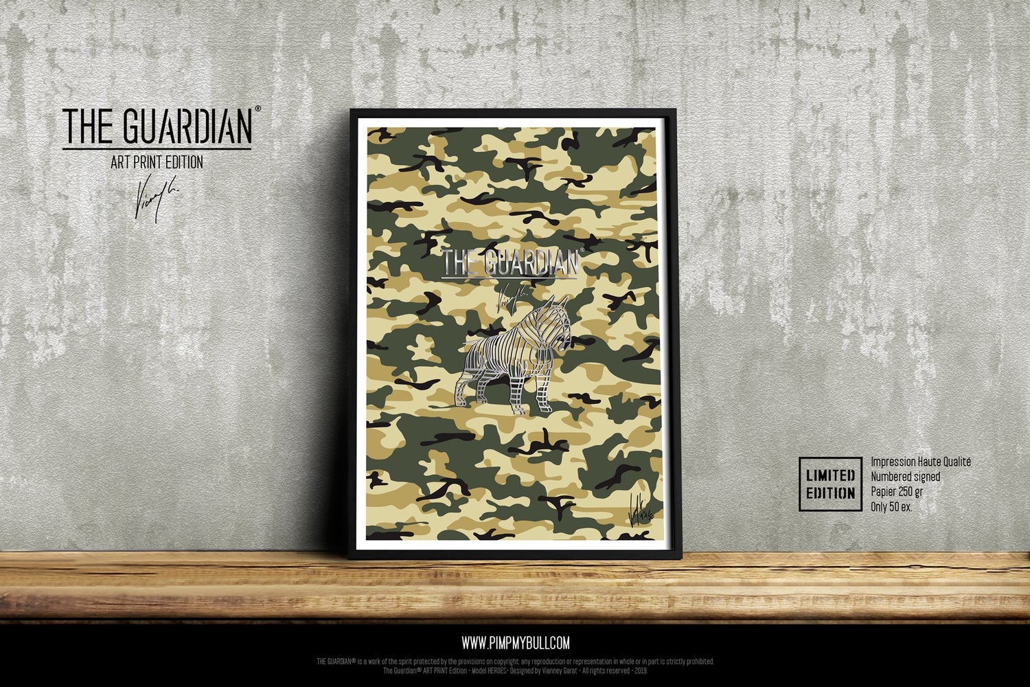 Image of ART PRINT - THE GUARDIAN FOREST - Limited Edition 50 Units.