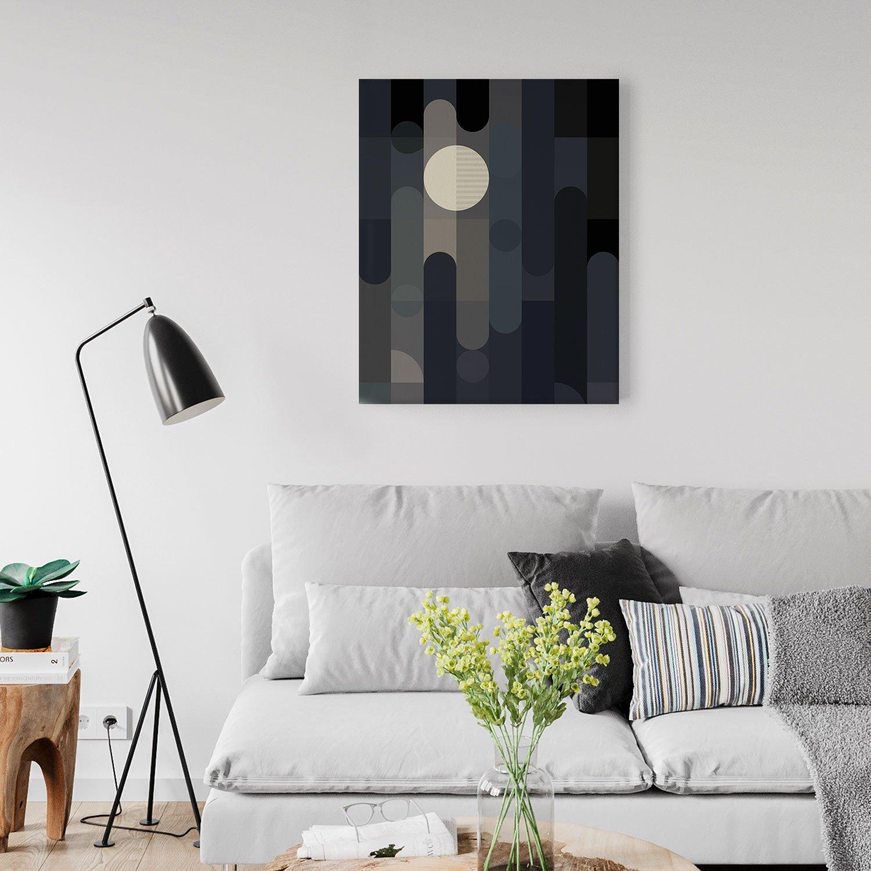 Image of Lunar Elements Canvas Print