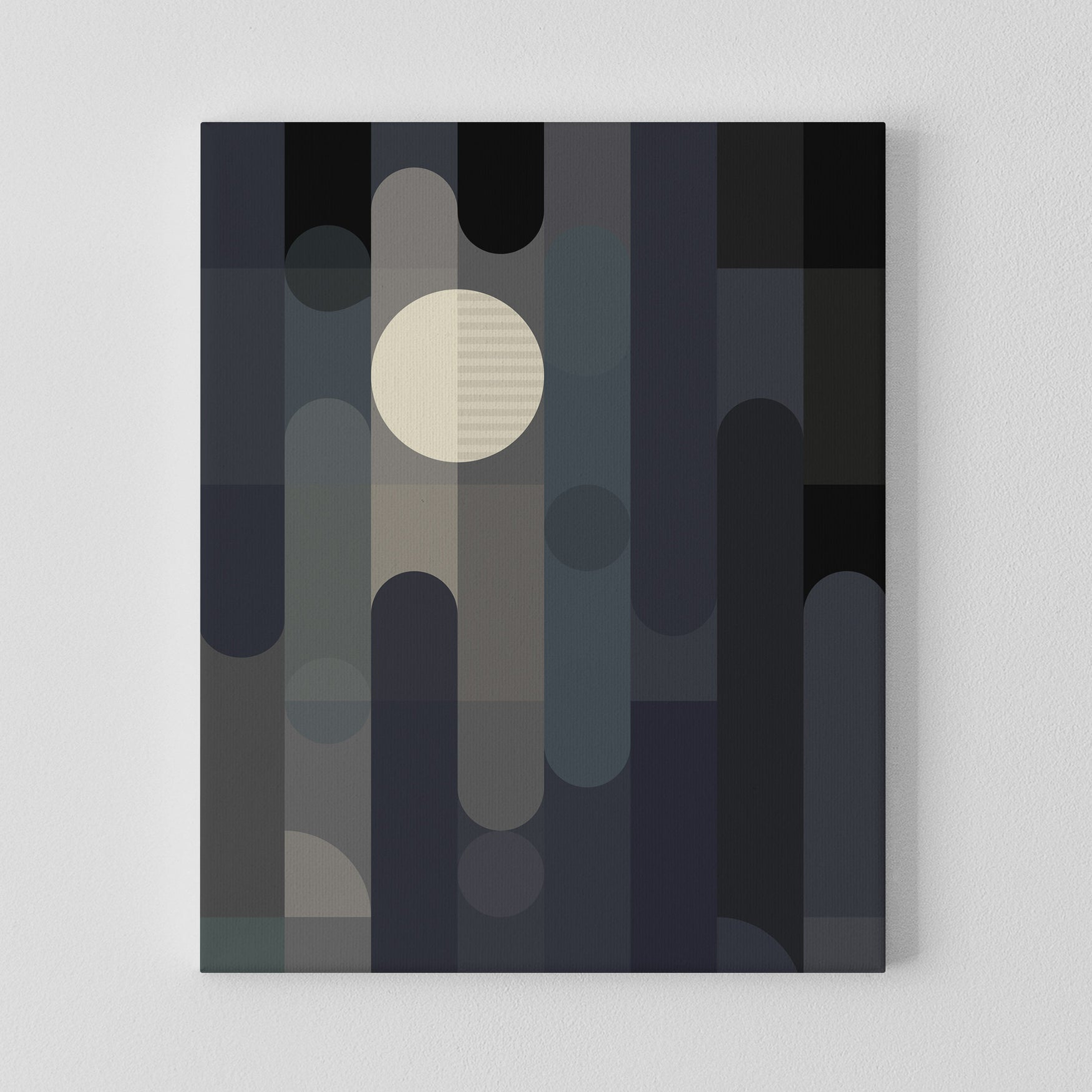 Image of Lunar Elements Canvas Print