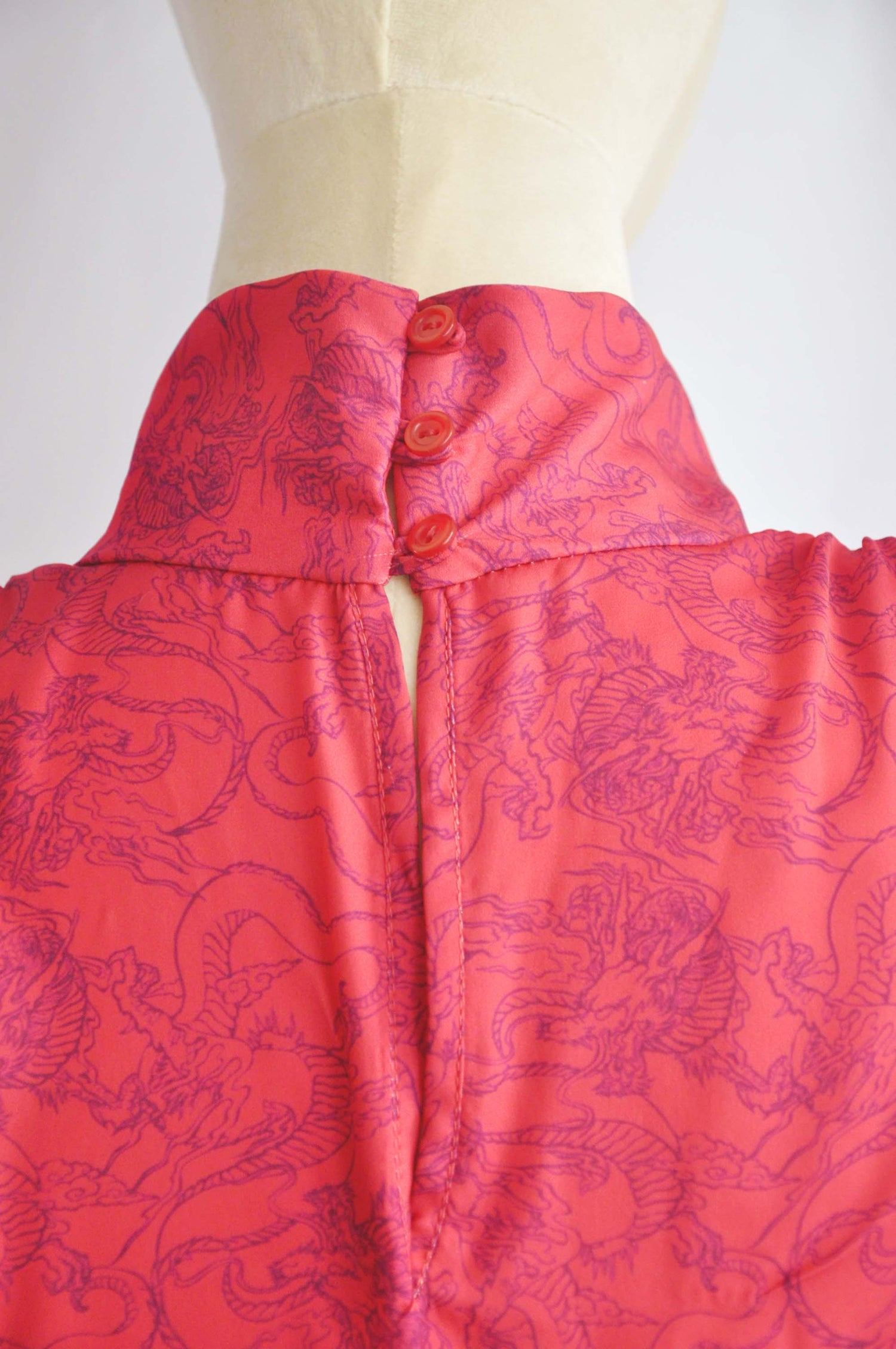 Image of PRINTED BLOUSE