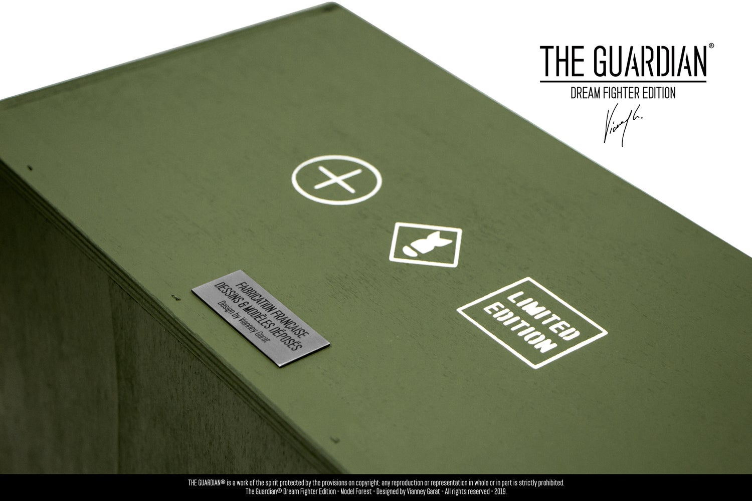 Image of THE GUARDIAN® - DREAM FIGHTER EDITION - CONTACT - ONLY 8 UNITS