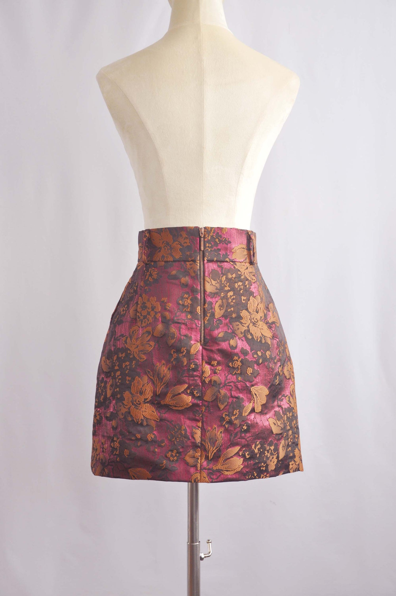 Image of FLORAL MINI SKIRT