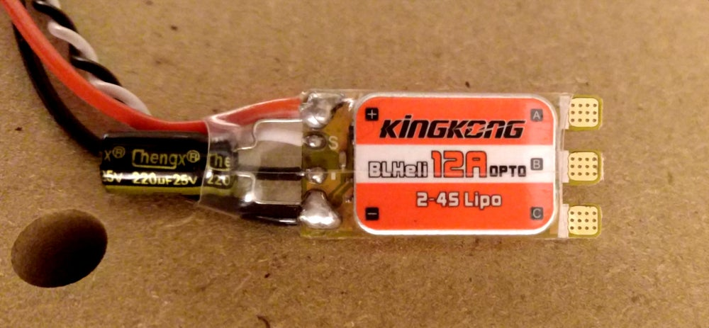 Image of 8A 4S brushed beetleweight ESC