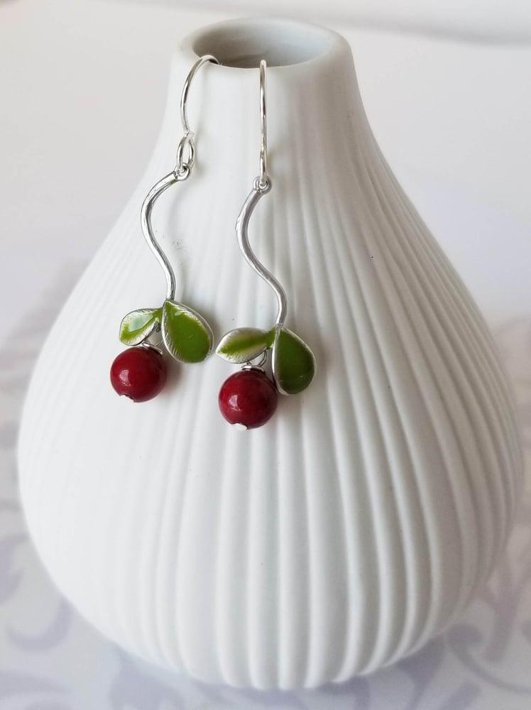 Image of Cheery Cherry Earrings