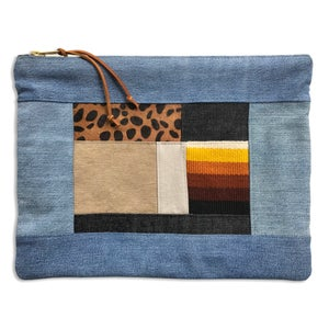 Image of COLLAGE POUCH - LARGE