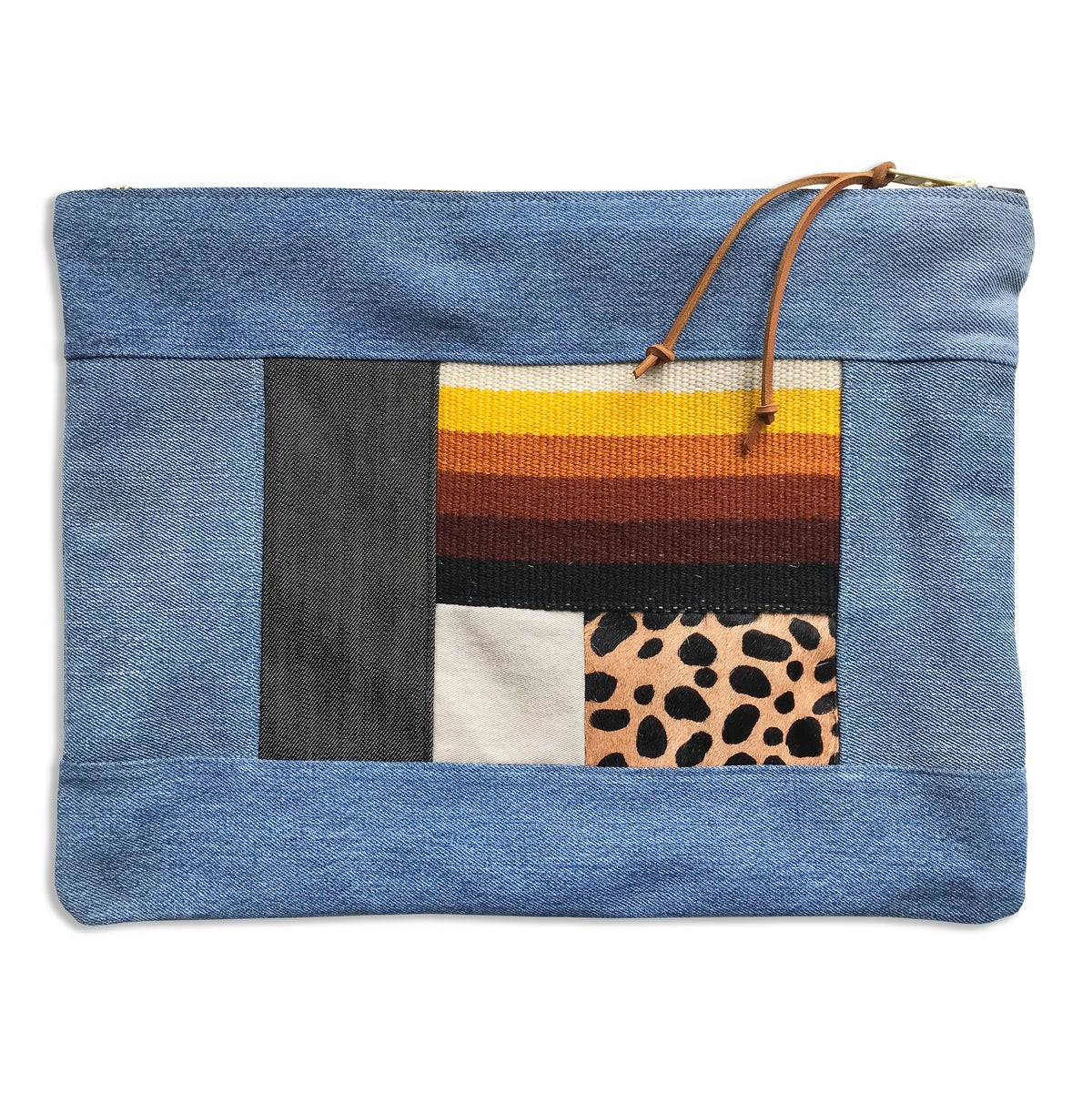Image of COLLAGE POUCH 1 - LARGE