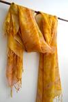 golden rod cashmere shawl