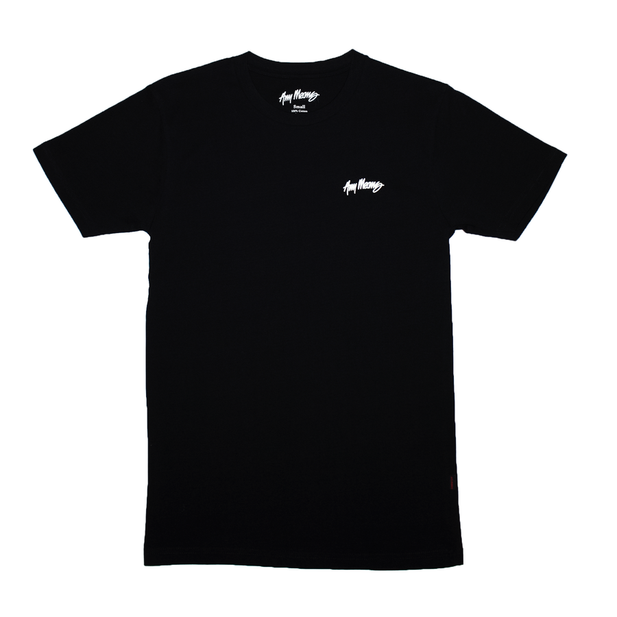 Image of Pocket Print Tee in Black