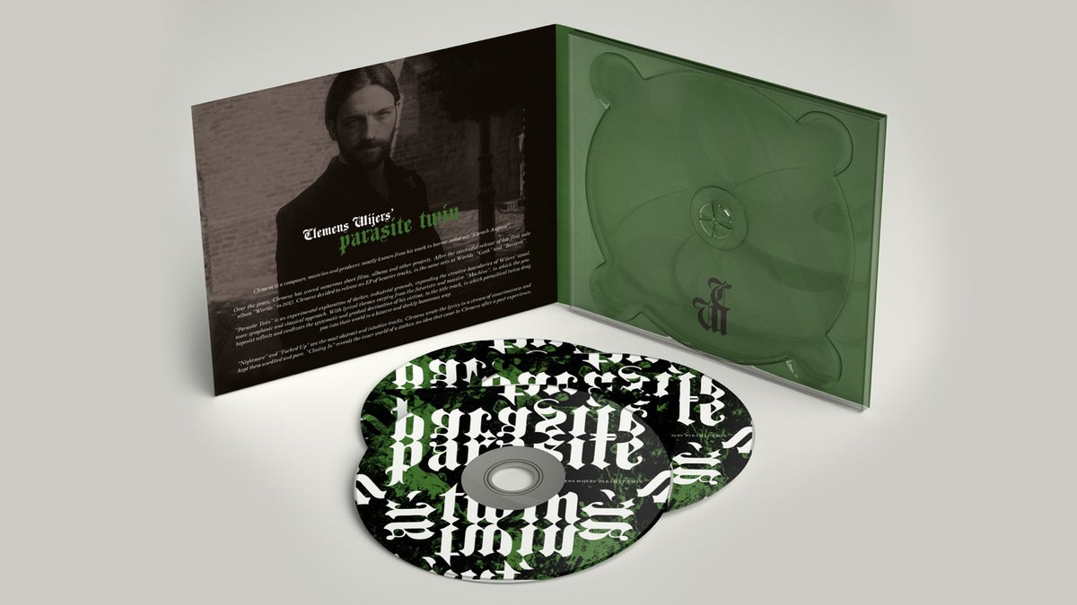 Image of Parasite Twin EP Digipack CD (Signed)