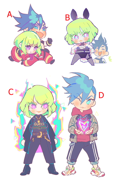 Image of Promare charms