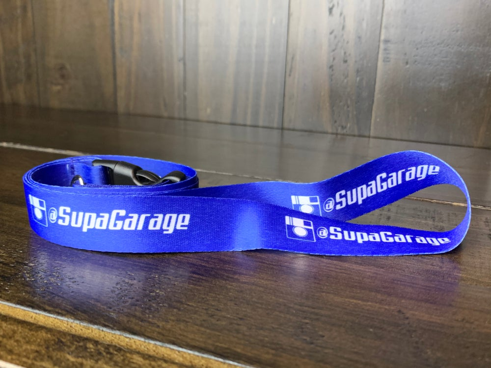 Image of SG Blue Lanyard