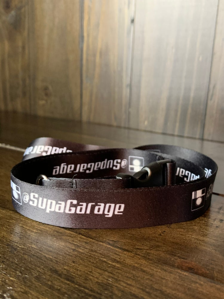 Image of SG Black Lanyard