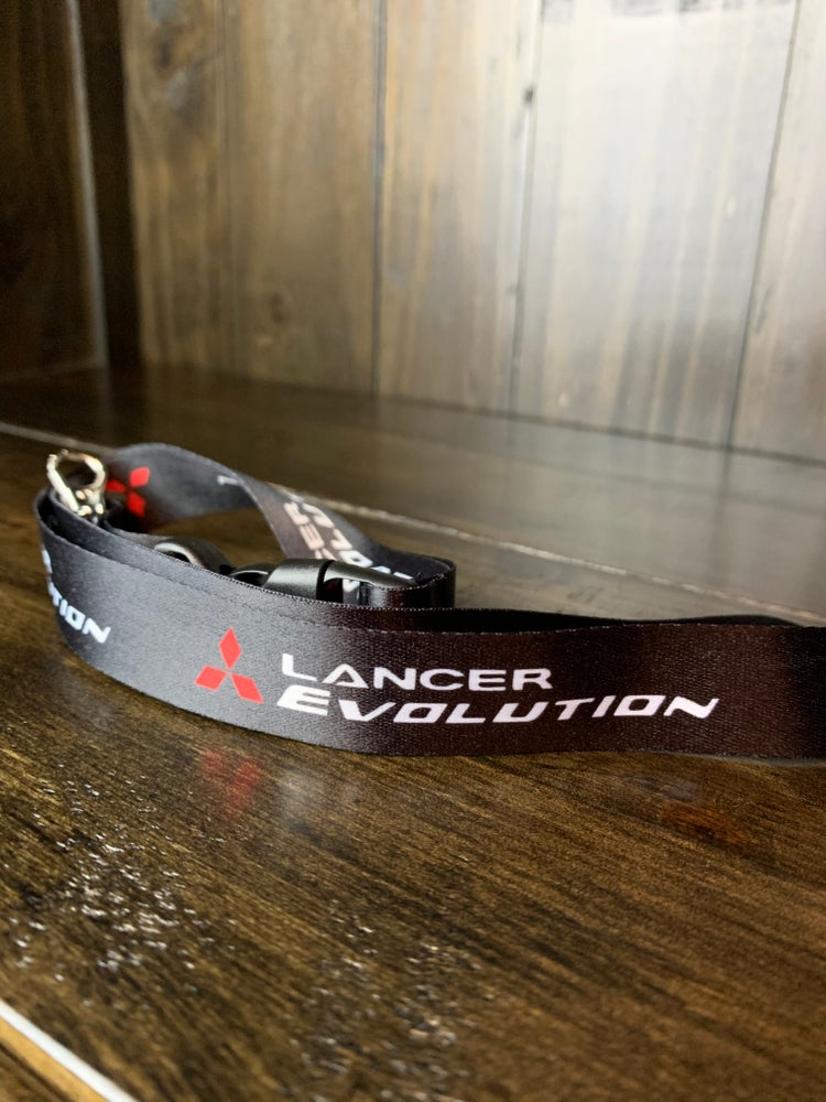 Image of SG Mitsubishi Evolution Lanyard