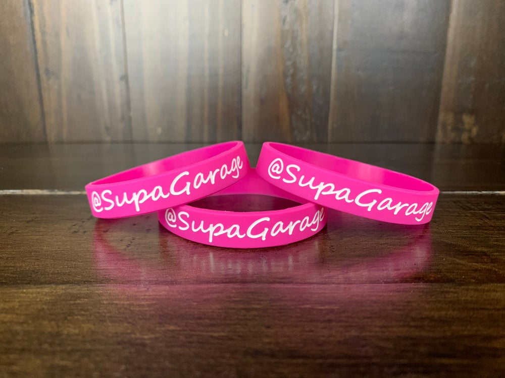 Image of SG Pink Wristbands