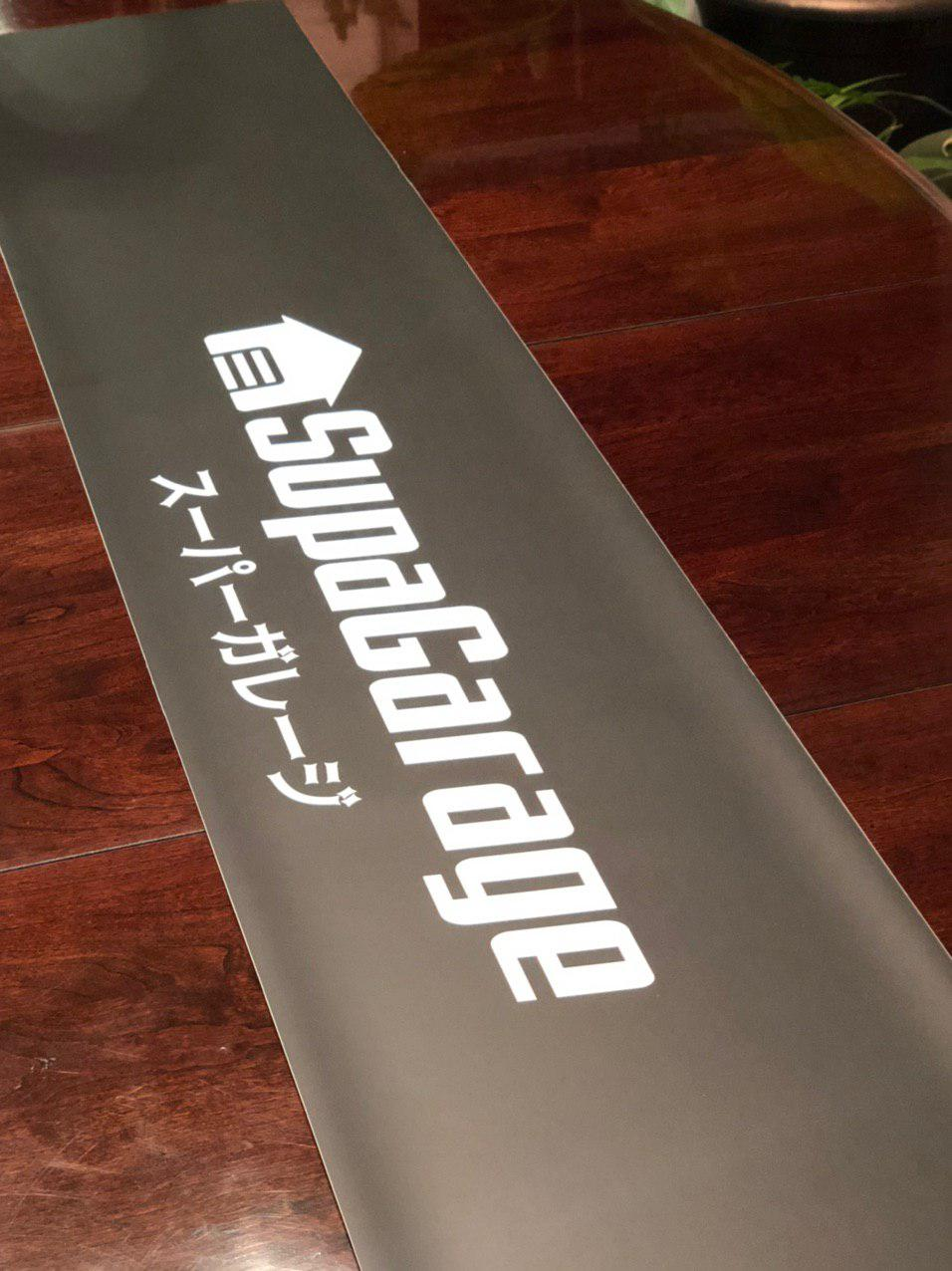 Image of SG Elite Window Banner (Matte Black)