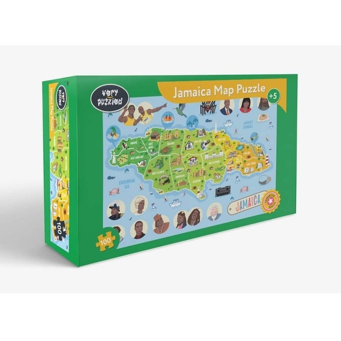 Image of Jamaican Map Puzzle