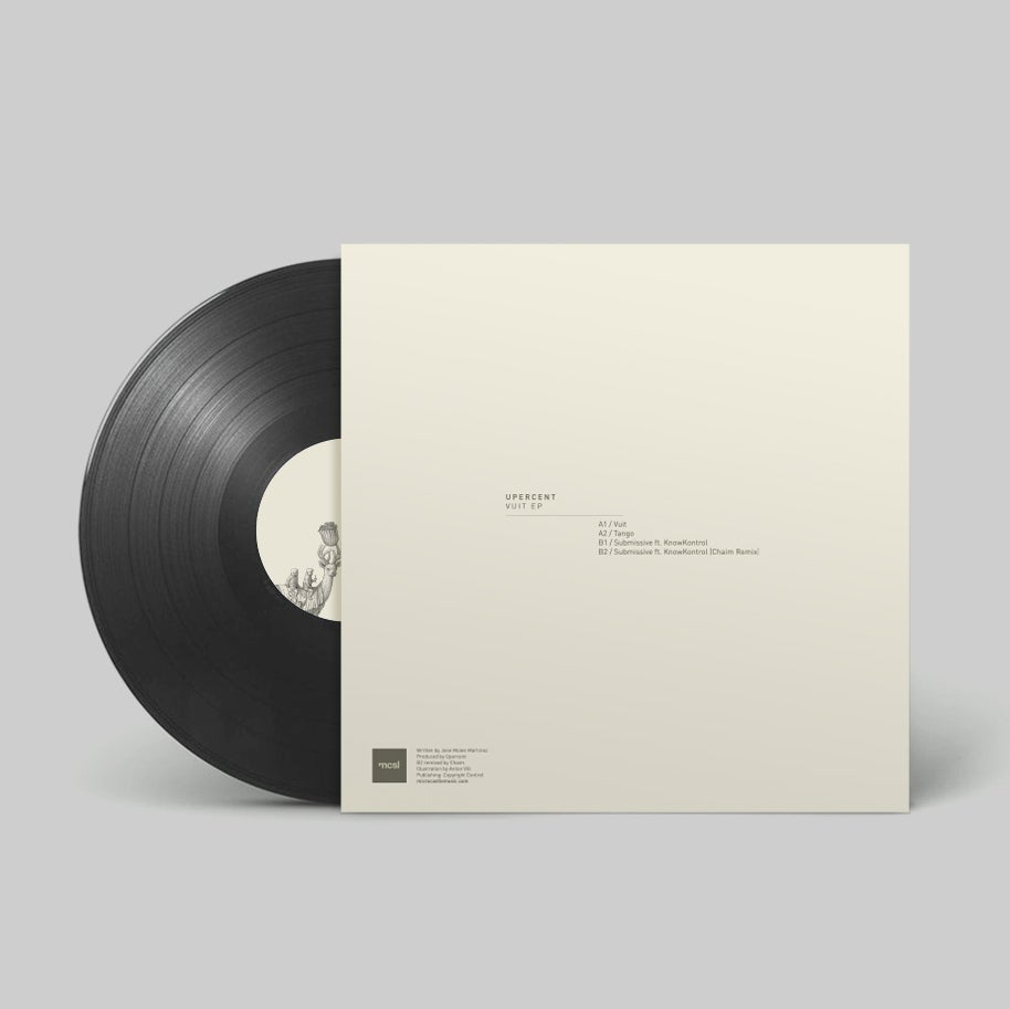"Image of Upercent 'Vuit' EP incl. Chaim Remix 12"" Vinyl"