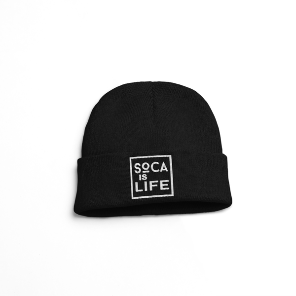 Image of Soca Is Life Version 2 - Beanie Hat (Skully, Tuque)