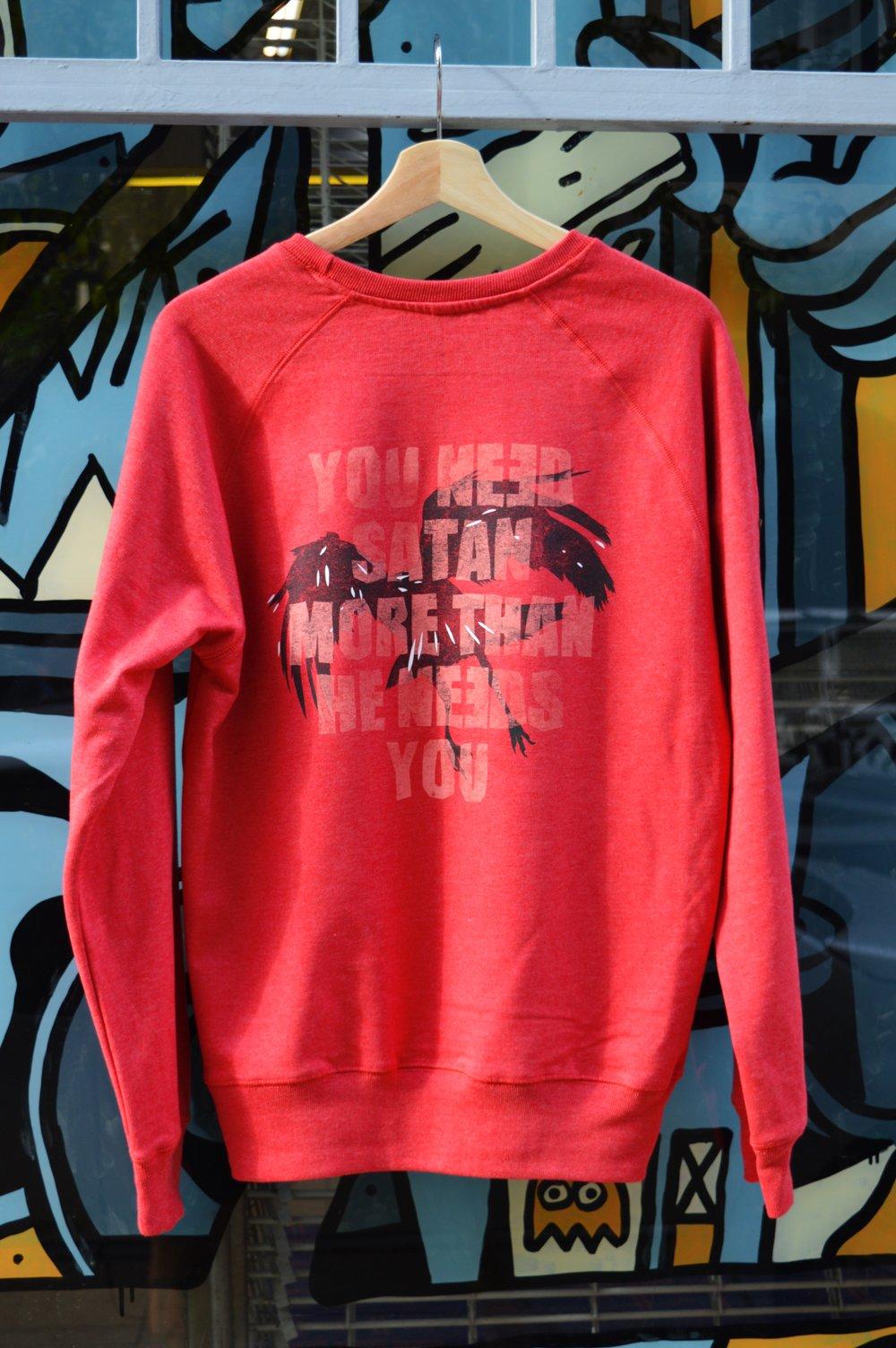 Image of Crow Crewneck Sweatshirt