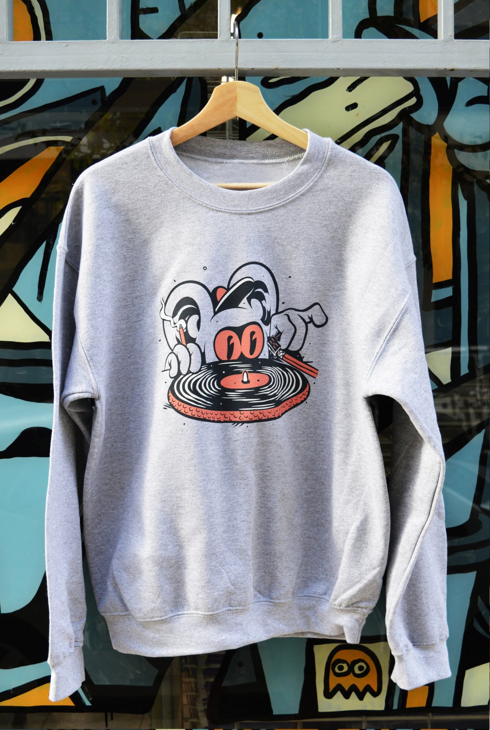 Image of Needle to the Groove Crewneck