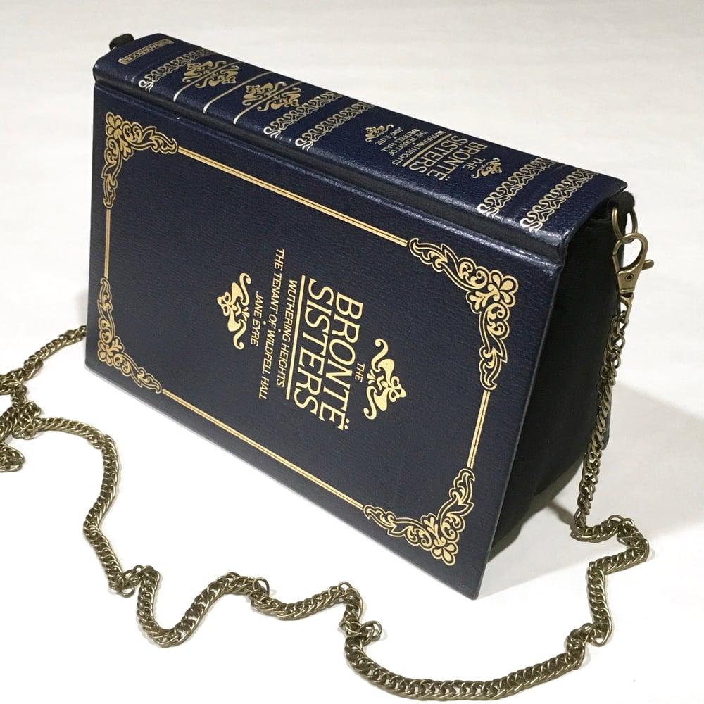 Image of Bronte Sisters Navy Book Bag