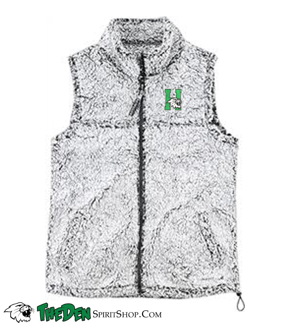 Image of Women's Sherpa Vest, Grey