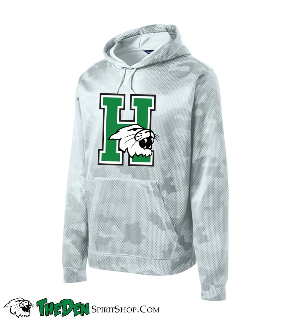 Image of YOUTH, Harrison Performance Hoodie, Camo White