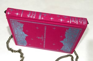 Image of Alice in Wonderland Pink Book Purse