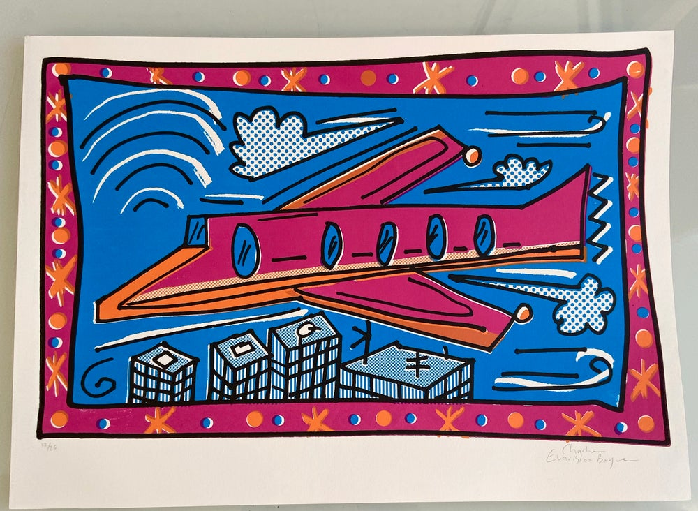 Image of Pink Plane by Charlie Evaristo-Boyce