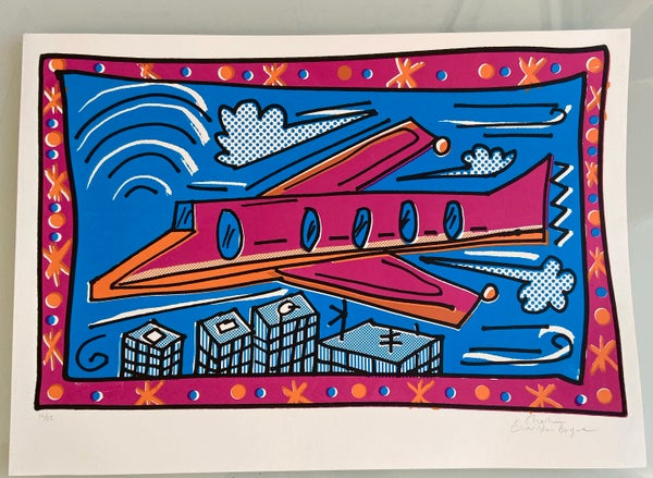 Image of Pink Plane by Charlie Evaristo-Boyce
