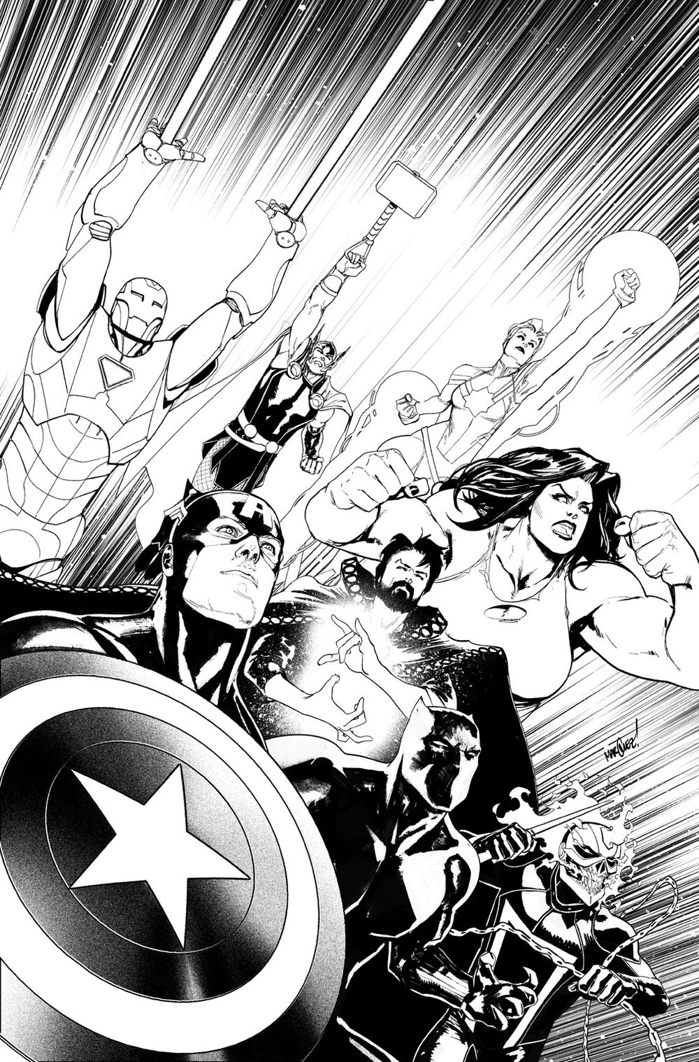 Image of AVENGERS #2 VARIANT COVER