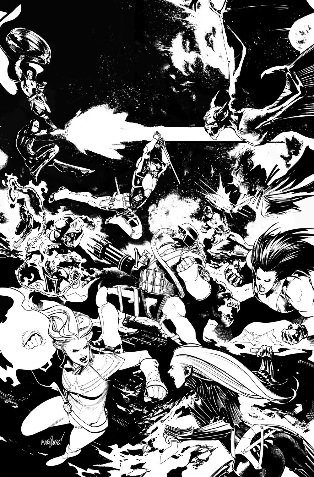 Image of AVENGERS #17 COVER ARTIST'S PROOF