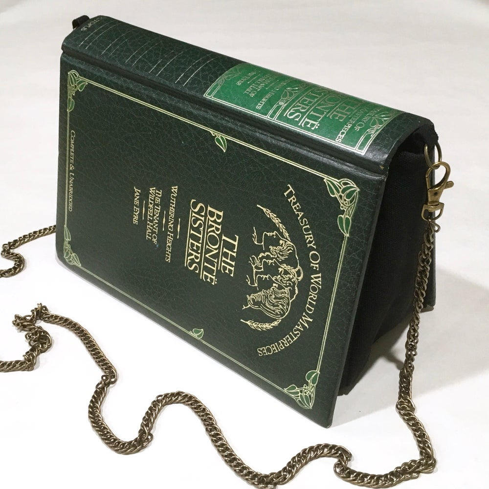Image of Bronte Sisters Green Book Purse