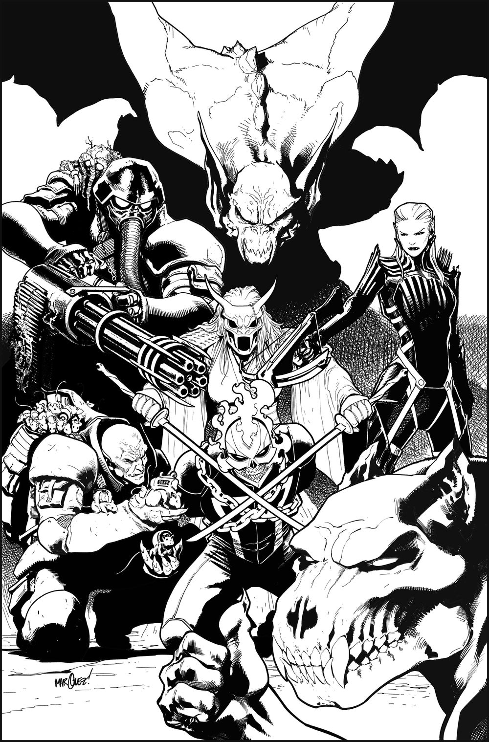 Image of AVENGERS #15 COVER ARTIST'S PROOF