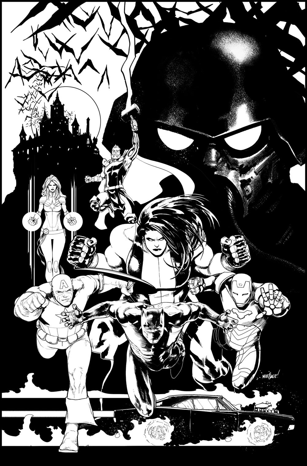 Image of AVENGERS #14 COVER ARTIST'S PROOF
