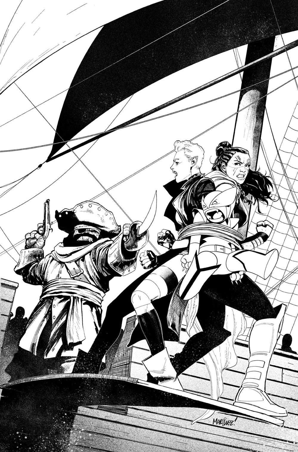 Image of EXILES #4 COVER ARTIST'S PROOF