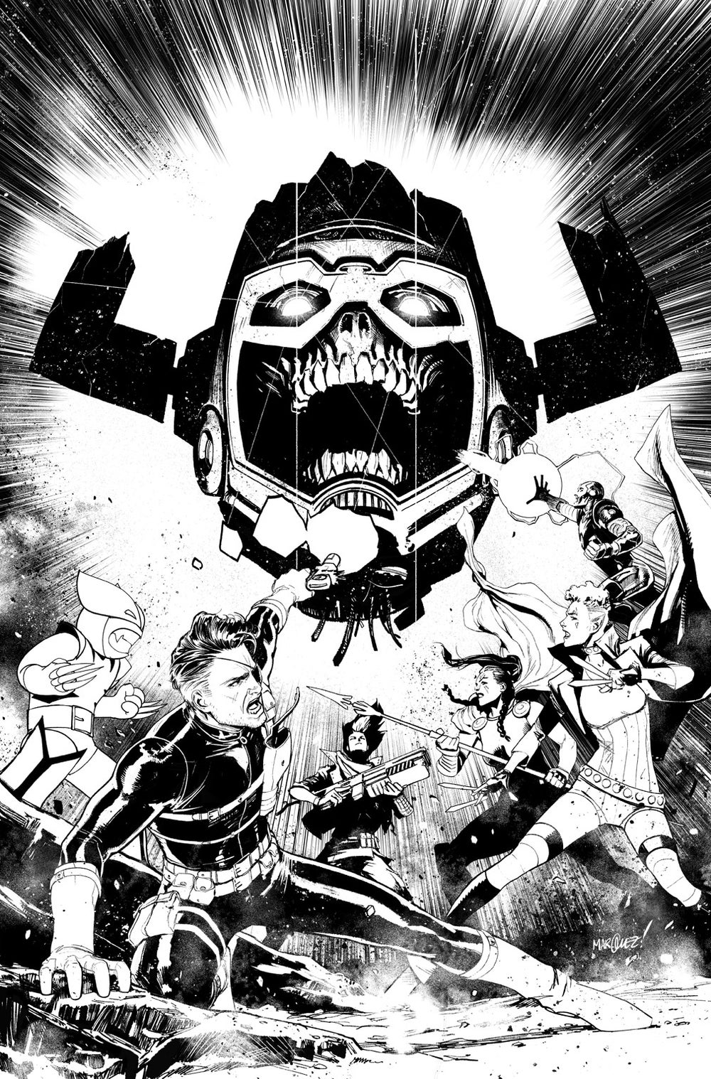 Image of EXILES #5 COVER ARTIST'S PROOF