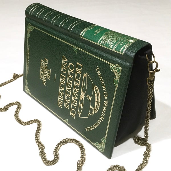 Image of Dictionary of Quotations Green Book Purse