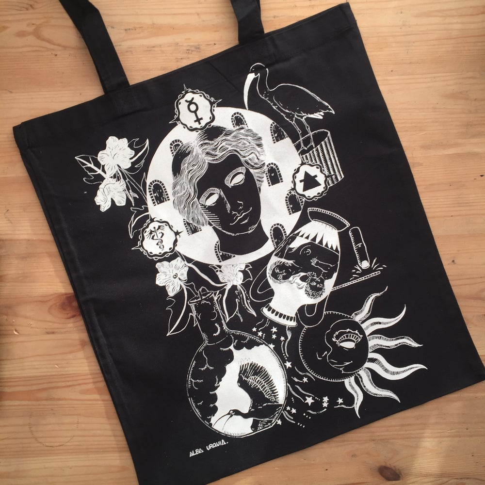 Image of Alchemical AIR 🜁 TOTE BAG