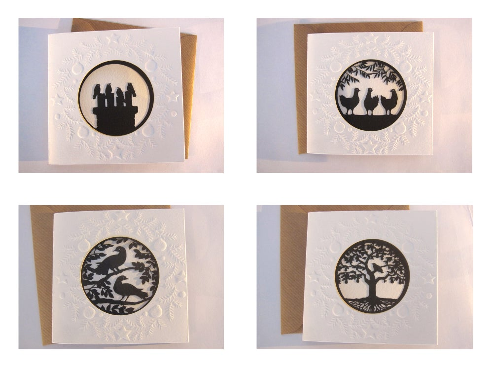 Image of Twelve Days of Christmas: individual cards
