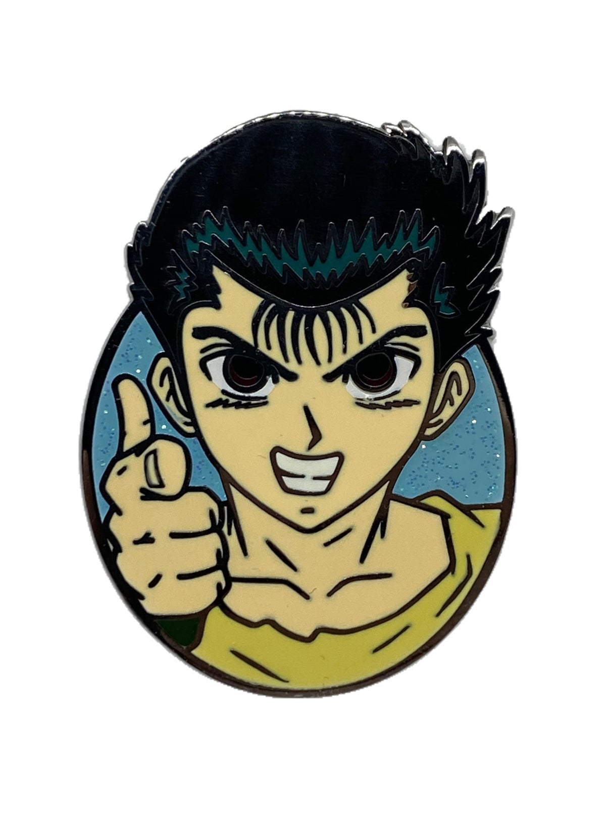 The Delinquent Hero Hard Enamel Pin