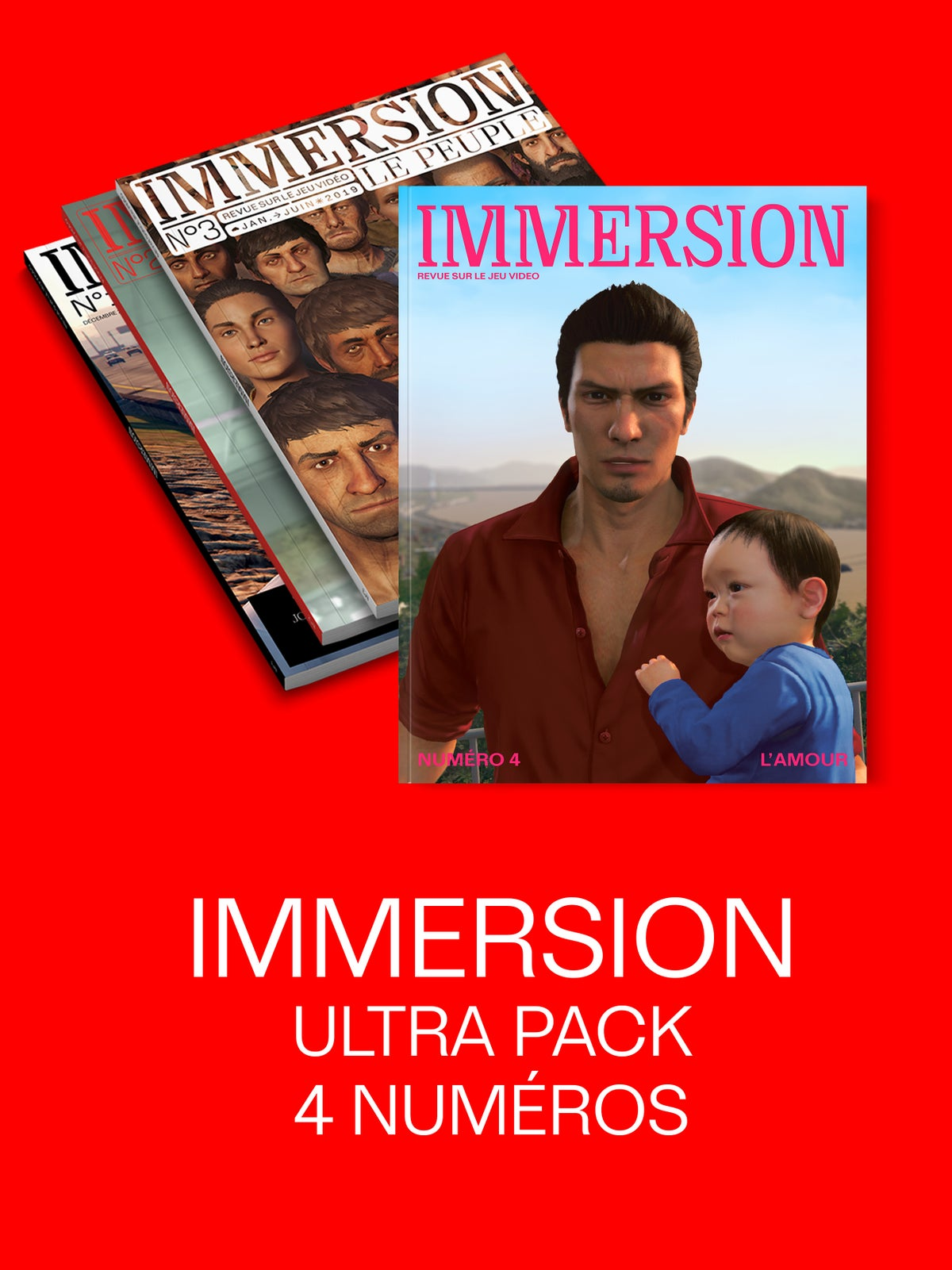 Image of IMMERSION ULTRAPACK — 4 numéros