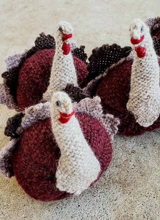 Image of Turkey, soft scuplture, handwoven