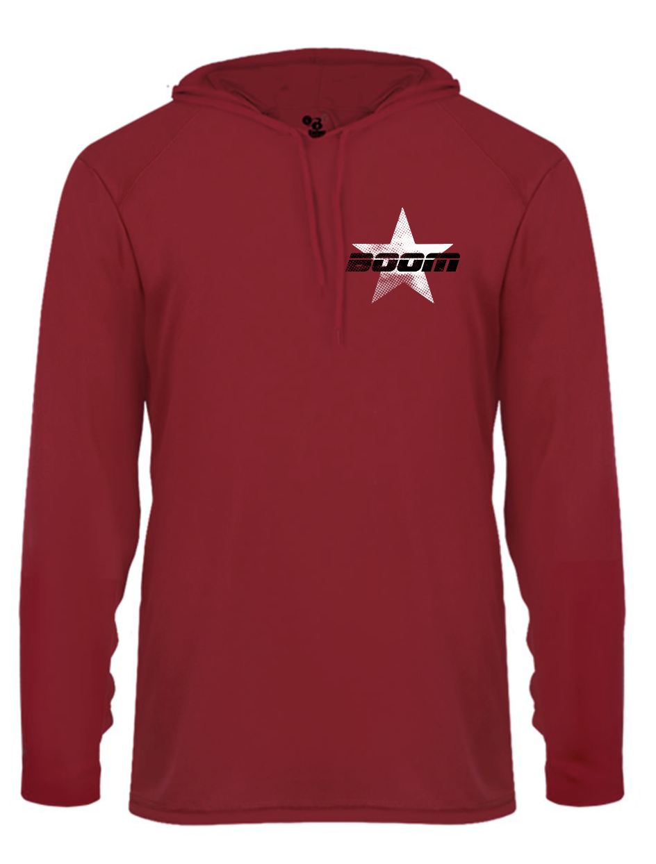 Image of Bros Red Star Hoodie