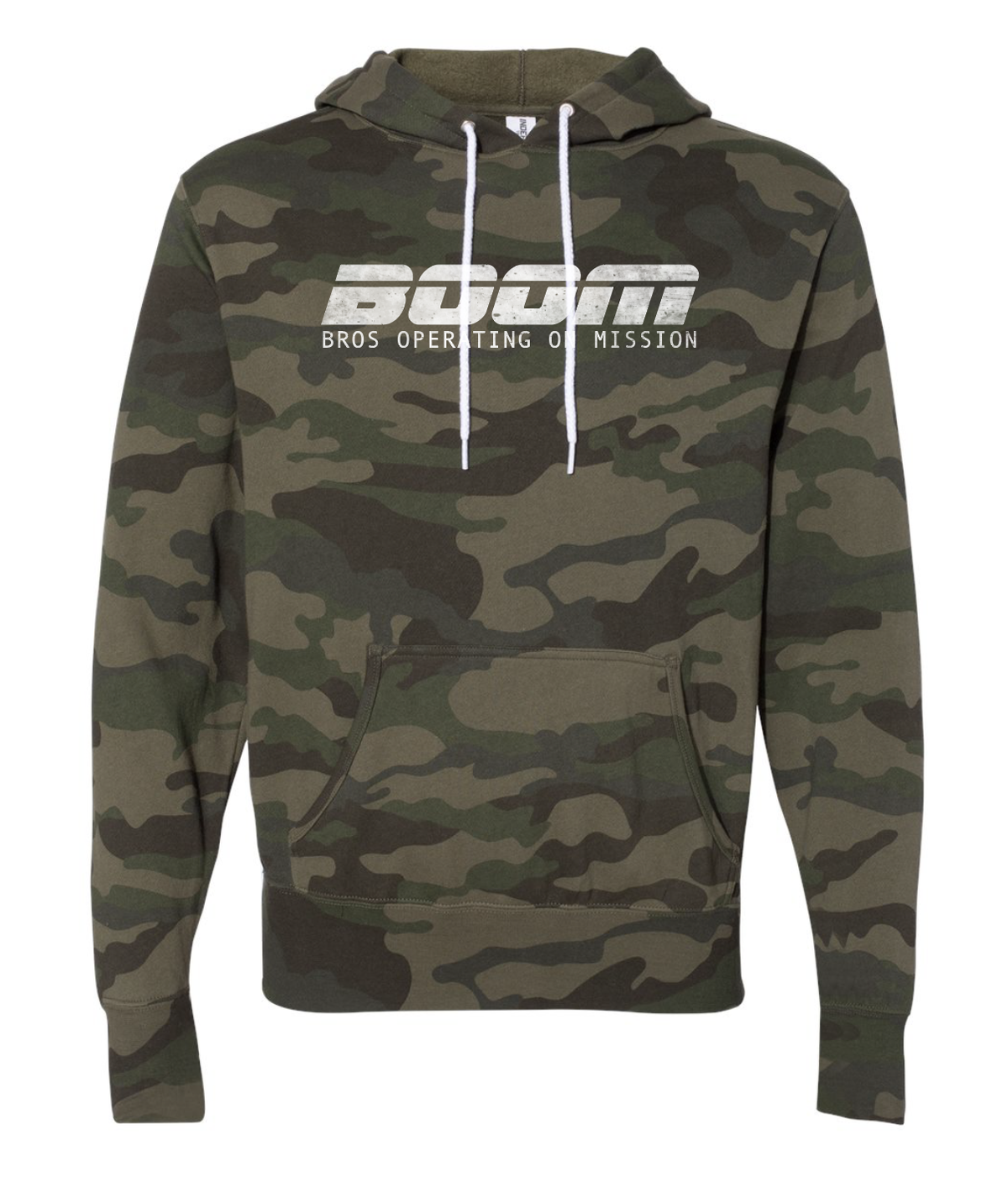 Image of Bros Camo Hoodie