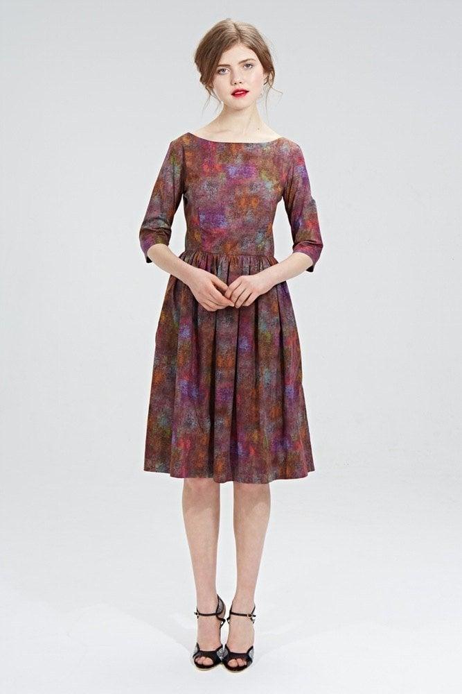 Image of Ella dress  (purple)