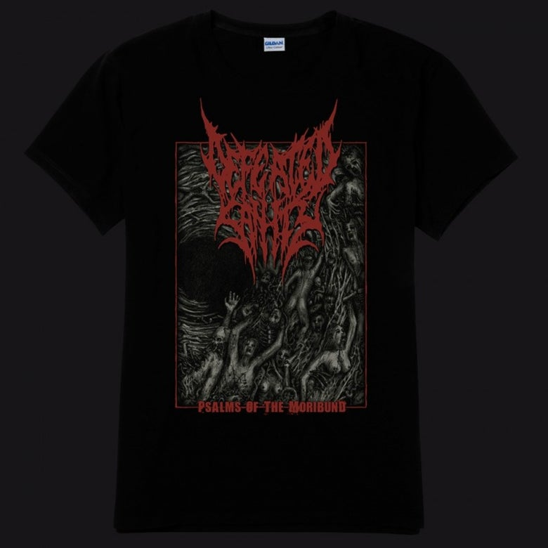 Image of Psalms of the Moribund Re-Release T-Shirt